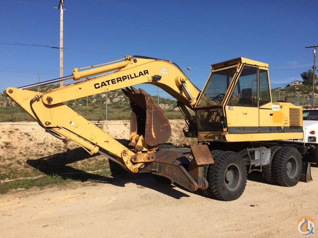 1985 CATERPILLAR 206 Wheel CATERPILLAR 206 Equipment Sales Inc. 18185 on CraneNetwork.com